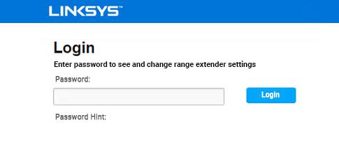 Linksys-extender-login